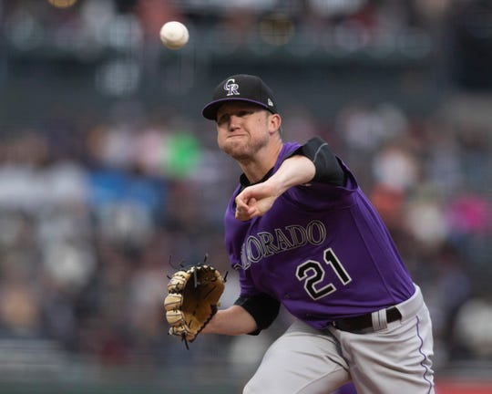 Kyle Freeland led the Rockies with 17 wins and a 2.85 ERA in 2018, one of the best seasons by a pitcher in franchise history.