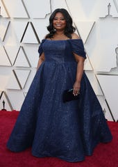February 24, 2019; Los Angeles, CA, USA; Octavia Spencer arrives at the 91st Academy Awards at the Dolby Theatre. Mandatory Credit: Dan MacMedan-USA TODAY NETWORK (Via OlyDrop)