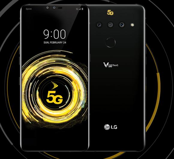 LG's V50 ThinQ 5G for Sprint.