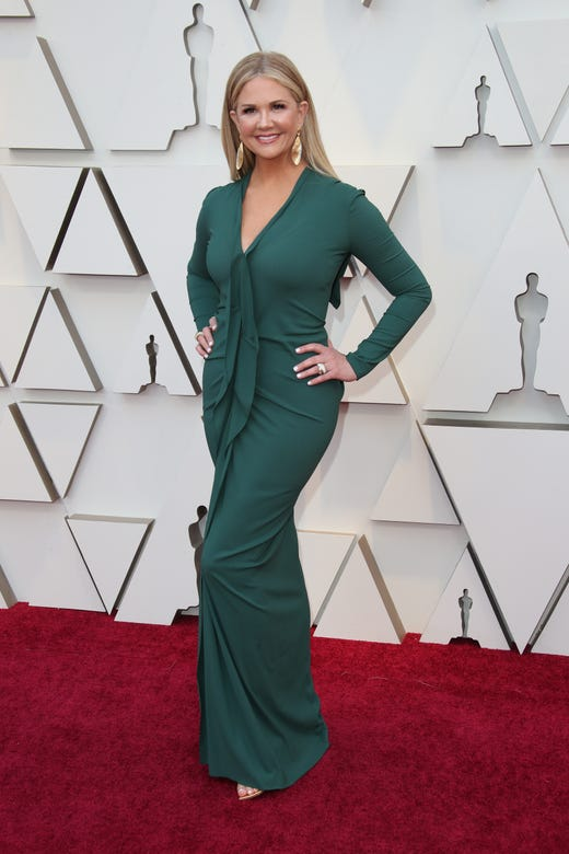 February 24, 2019; Los Angeles, CA, USA; Nancy O'Dell arrives at the 91st Academy Awards at the Dolby Theatre. Mandatory Credit: Dan MacMedan-USA TODAY NETWORK (Via OlyDrop)