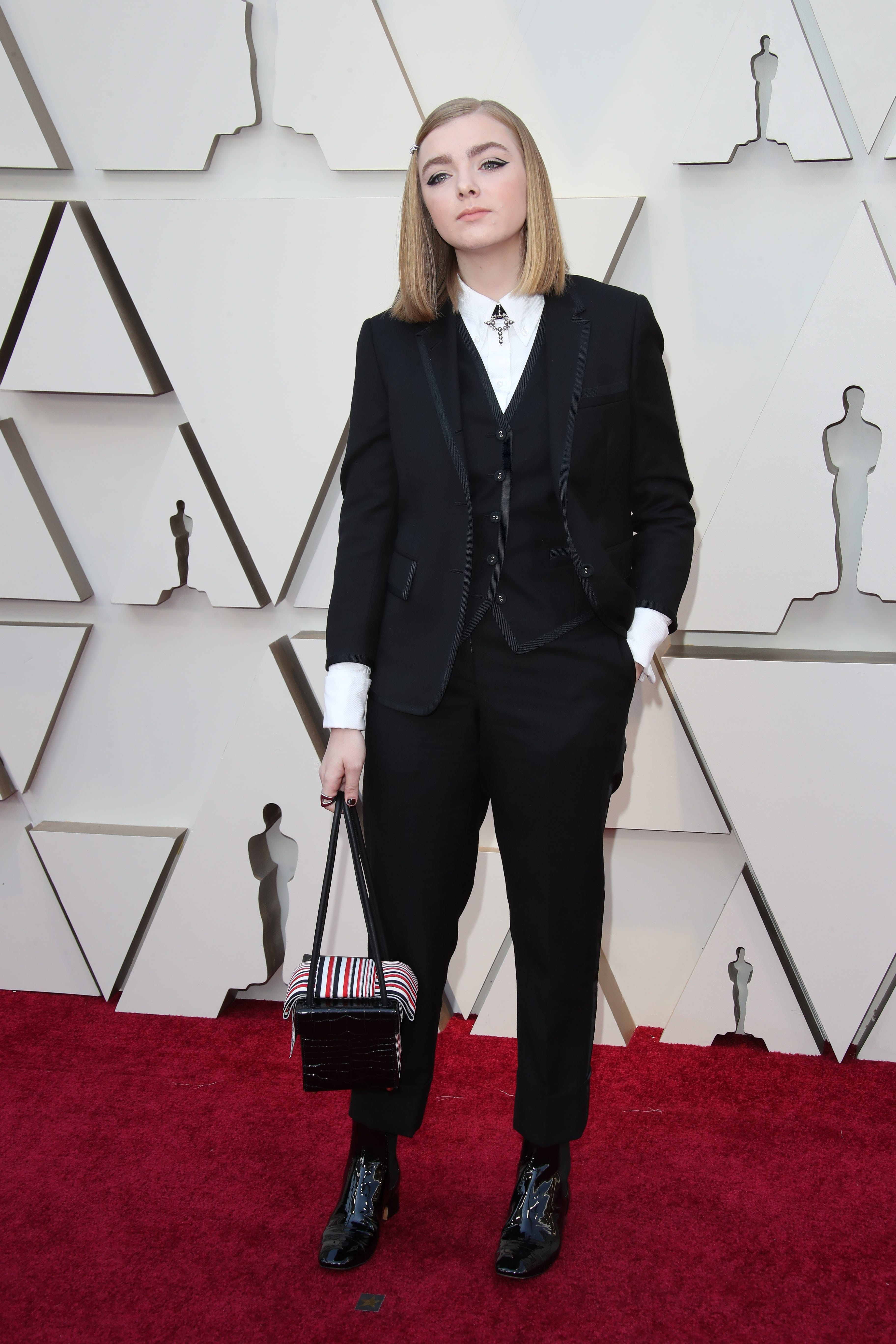 February 24, 2019; Los Angeles, CA, USA; Elsie Fisher arrives at the 91st Academy Awards at the Dolby Theatre. Mandatory Credit: Dan MacMedan-USA TODAY NETWORK (Via OlyDrop)