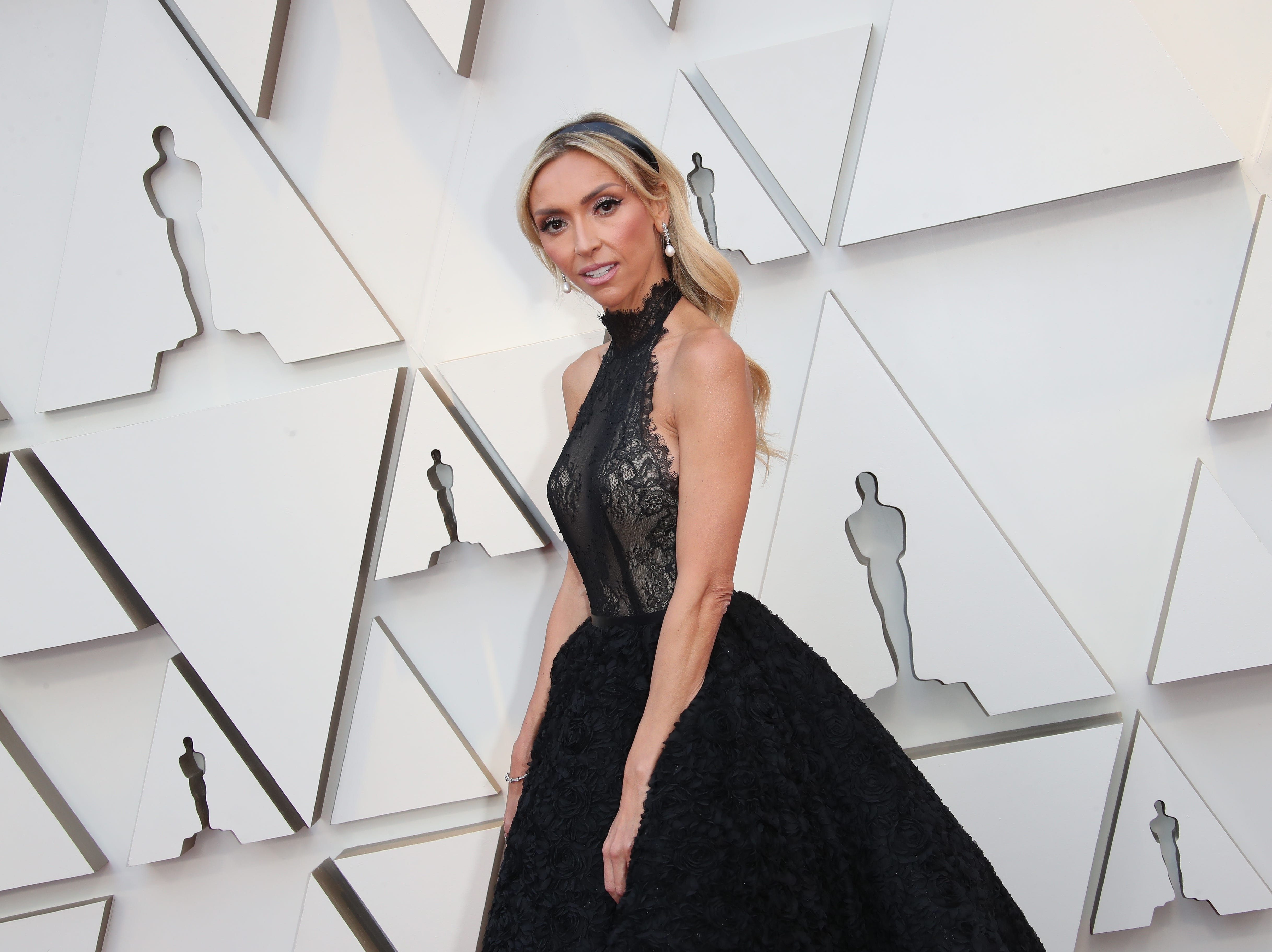 February 24, 2019; Los Angeles, CA, USA; Giuliana Rancic arrives at the 91st Academy Awards at the Dolby Theatre. Mandatory Credit: Dan MacMedan-USA TODAY NETWORK (Via OlyDrop)