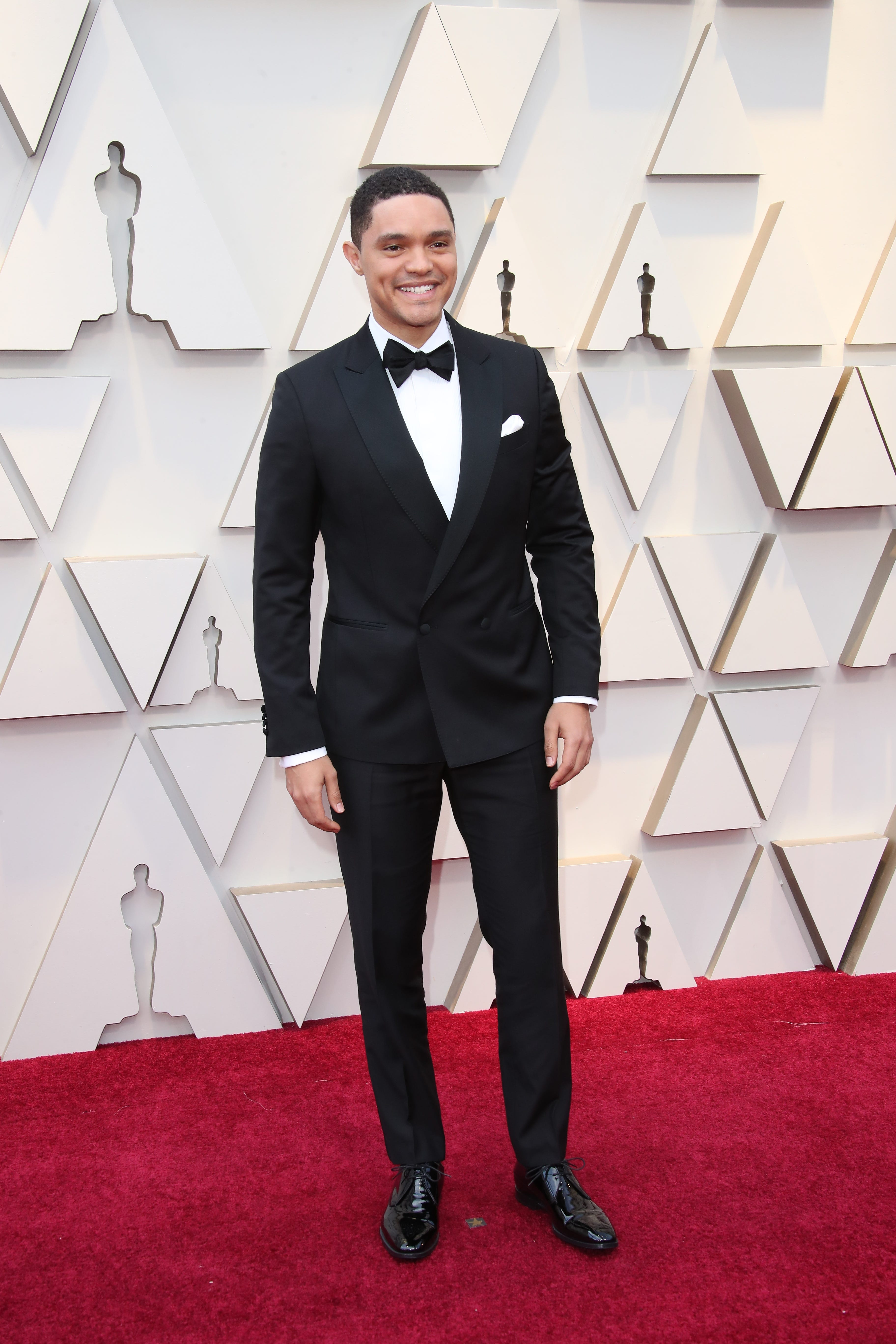 February 24, 2019; Los Angeles, CA, USA; Trevor Noah arrives at the 91st Academy Awards at the Dolby Theatre. Mandatory Credit: Dan MacMedan-USA TODAY NETWORK (Via OlyDrop)
