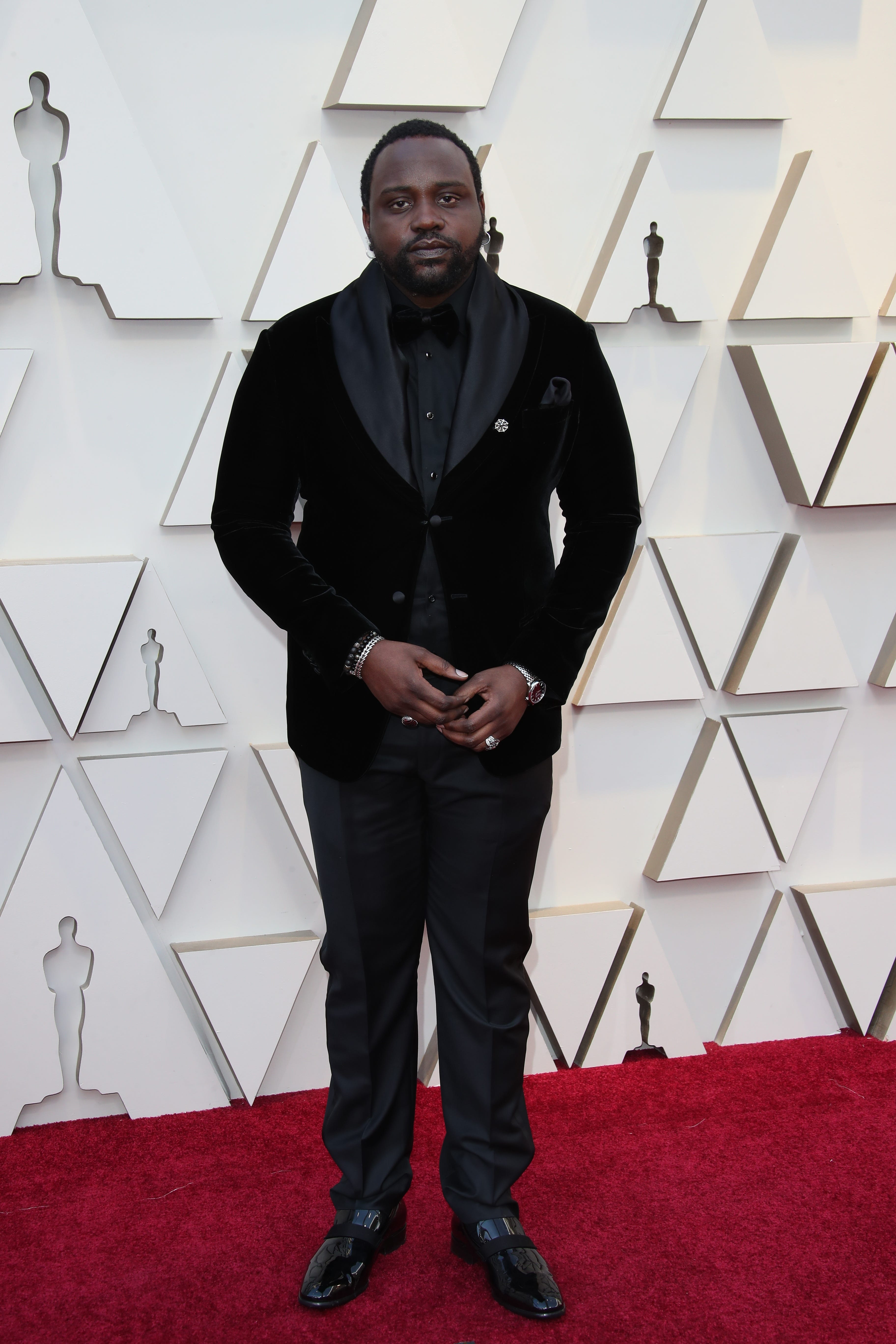 February 24, 2019; Los Angeles, CA, USA; Brian Tyree Henry arrives at the 91st Academy Awards at the Dolby Theatre. Mandatory Credit: Dan MacMedan-USA TODAY NETWORK (Via OlyDrop)