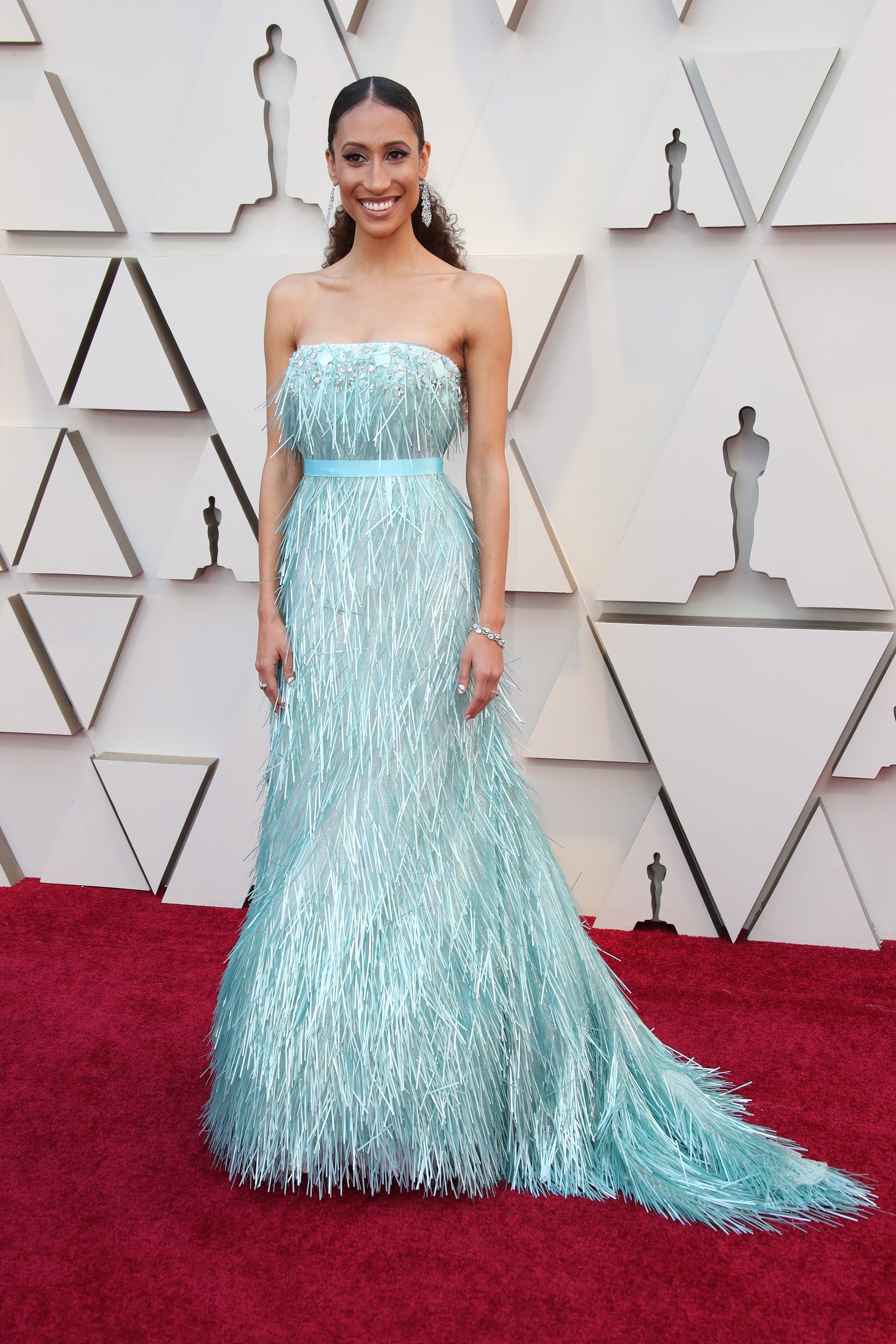 February 24, 2019; Los Angeles, CA, USA; Elaine Welteroth arrives at the 91st Academy Awards at the Dolby Theatre. Mandatory Credit: Dan MacMedan-USA TODAY NETWORK (Via OlyDrop)