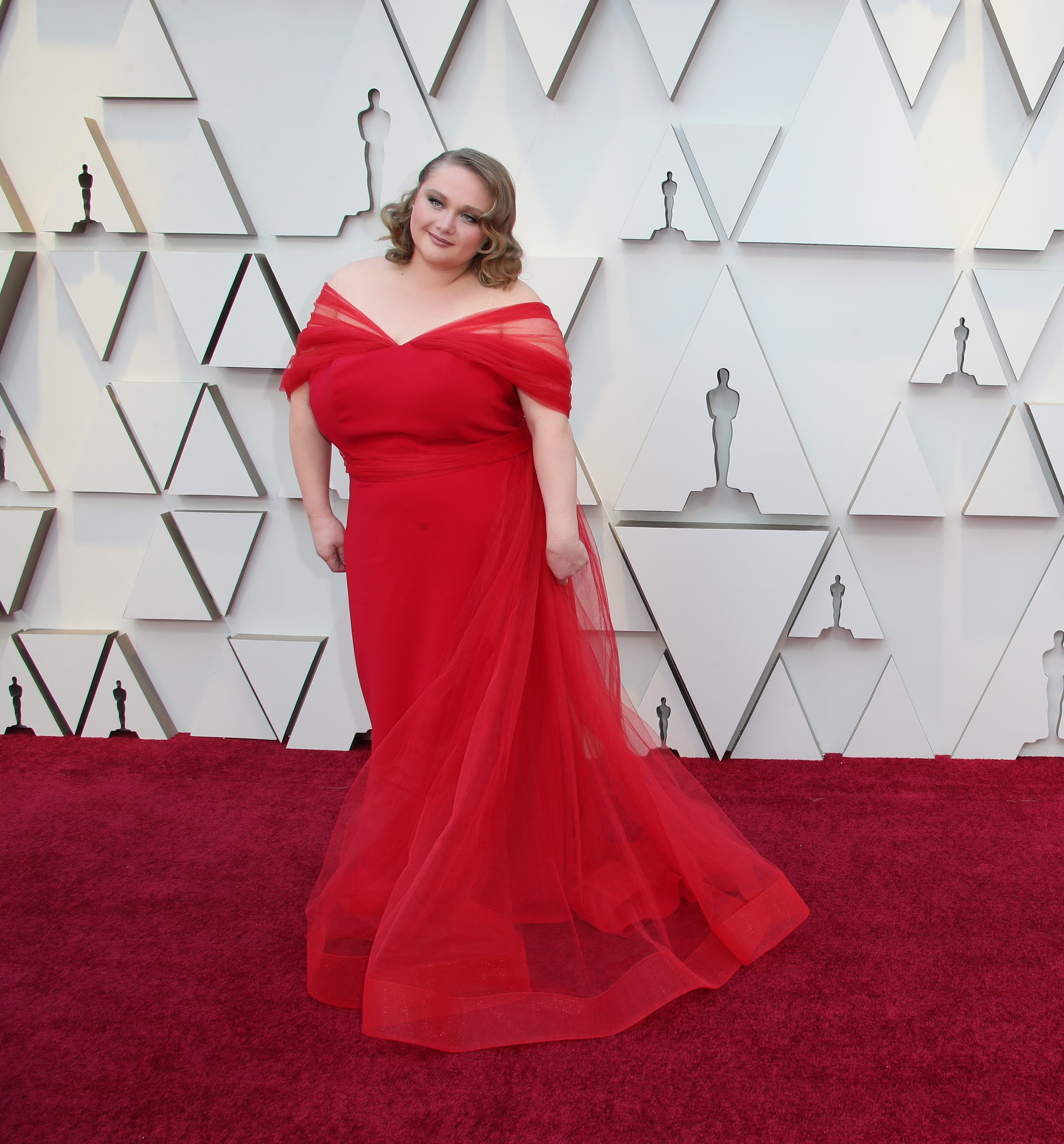 February 24, 2019; Los Angeles, CA, USA; Danielle Macdonald arrives at the 91st Academy Awards at the Dolby Theatre. Mandatory Credit: Dan MacMedan-USA TODAY NETWORK (Via OlyDrop)