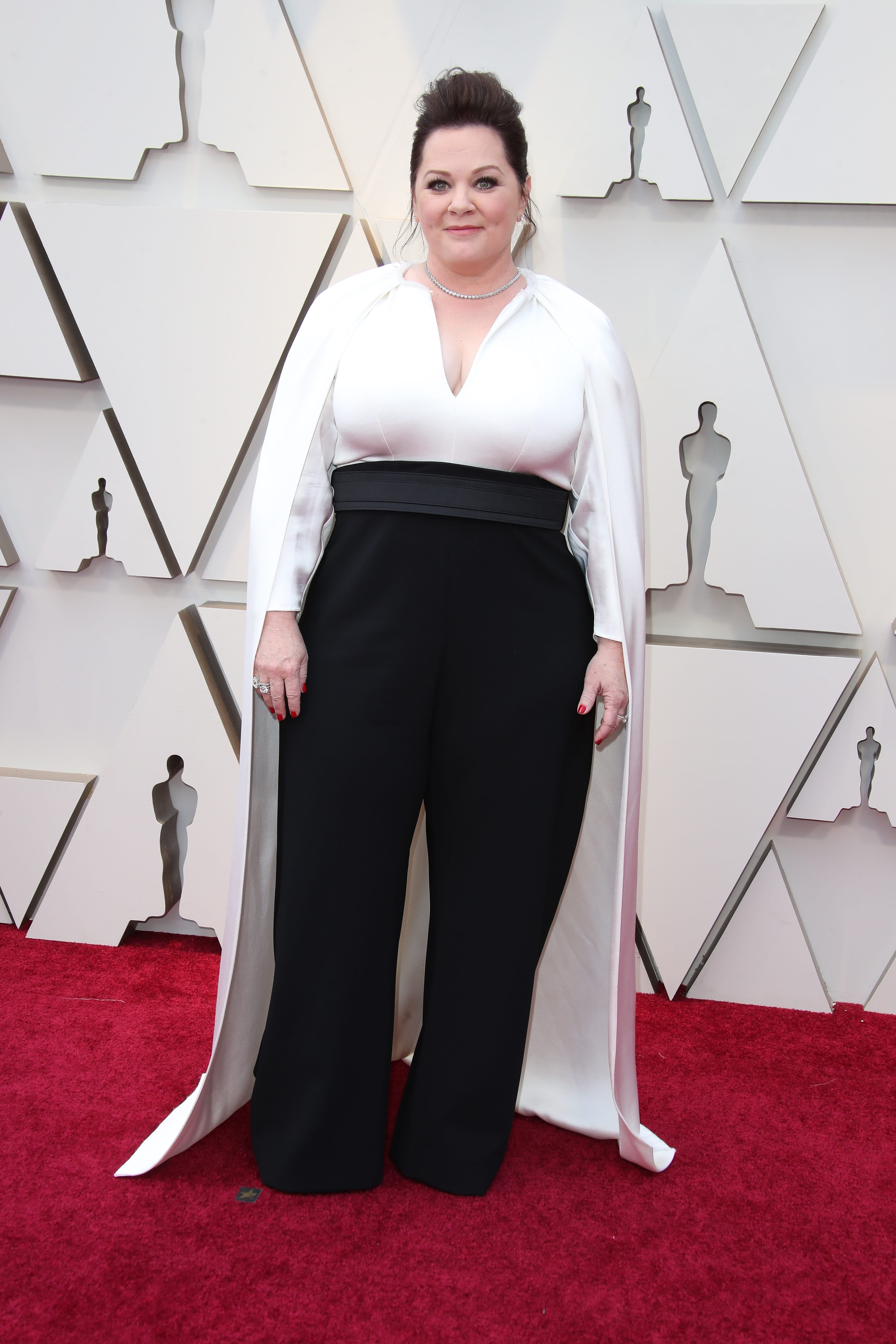 February 24, 2019; Los Angeles, CA, USA; Melissa McCarthy arrives at the 91st Academy Awards at the Dolby Theatre. Mandatory Credit: Dan MacMedan-USA TODAY NETWORK (Via OlyDrop)