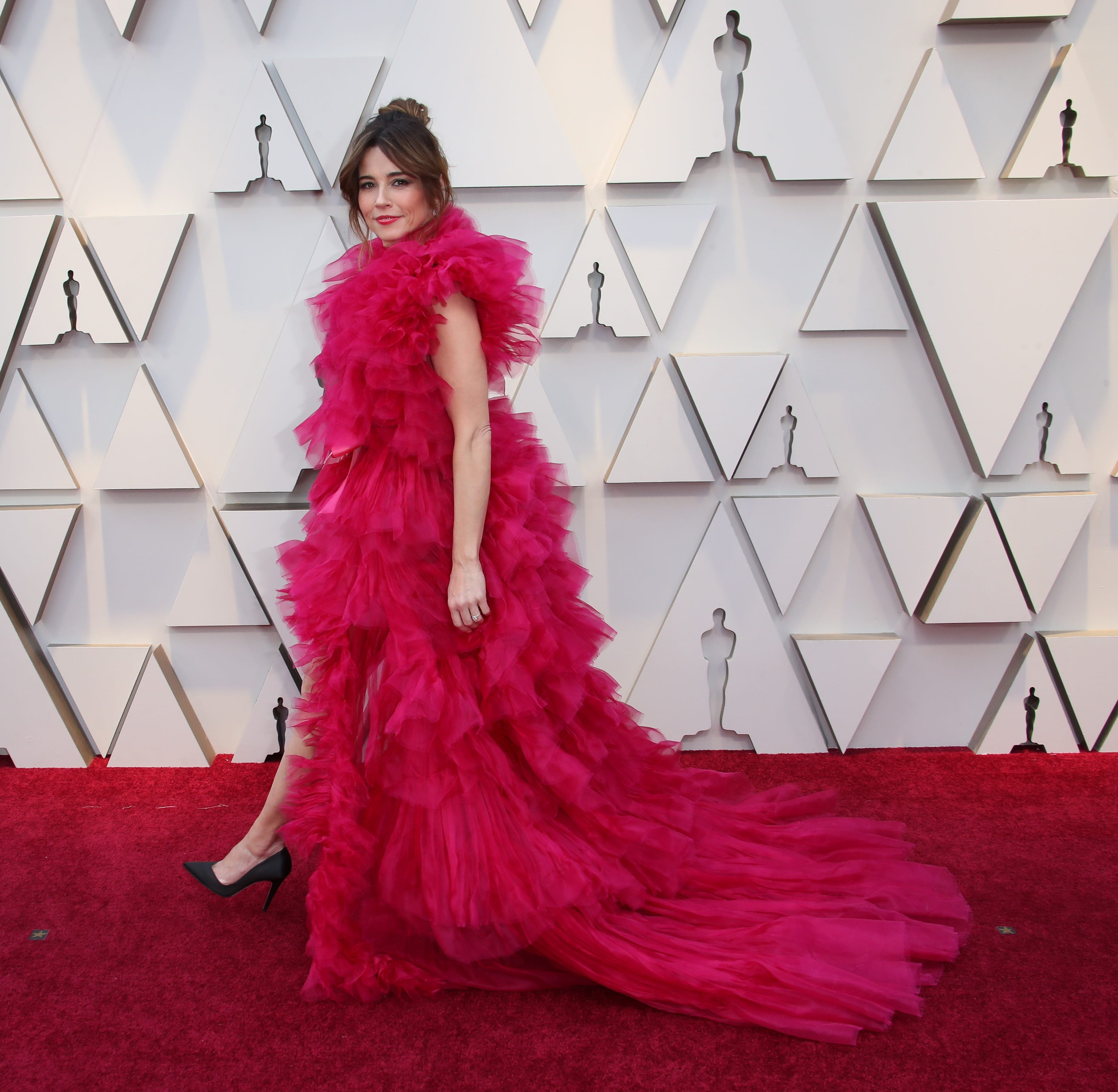 February 24, 2019; Los Angeles, CA, USA; Linda Cardellini arrives at the 91st Academy Awards at the Dolby Theatre. Mandatory Credit: Dan MacMedan-USA TODAY NETWORK (Via OlyDrop)