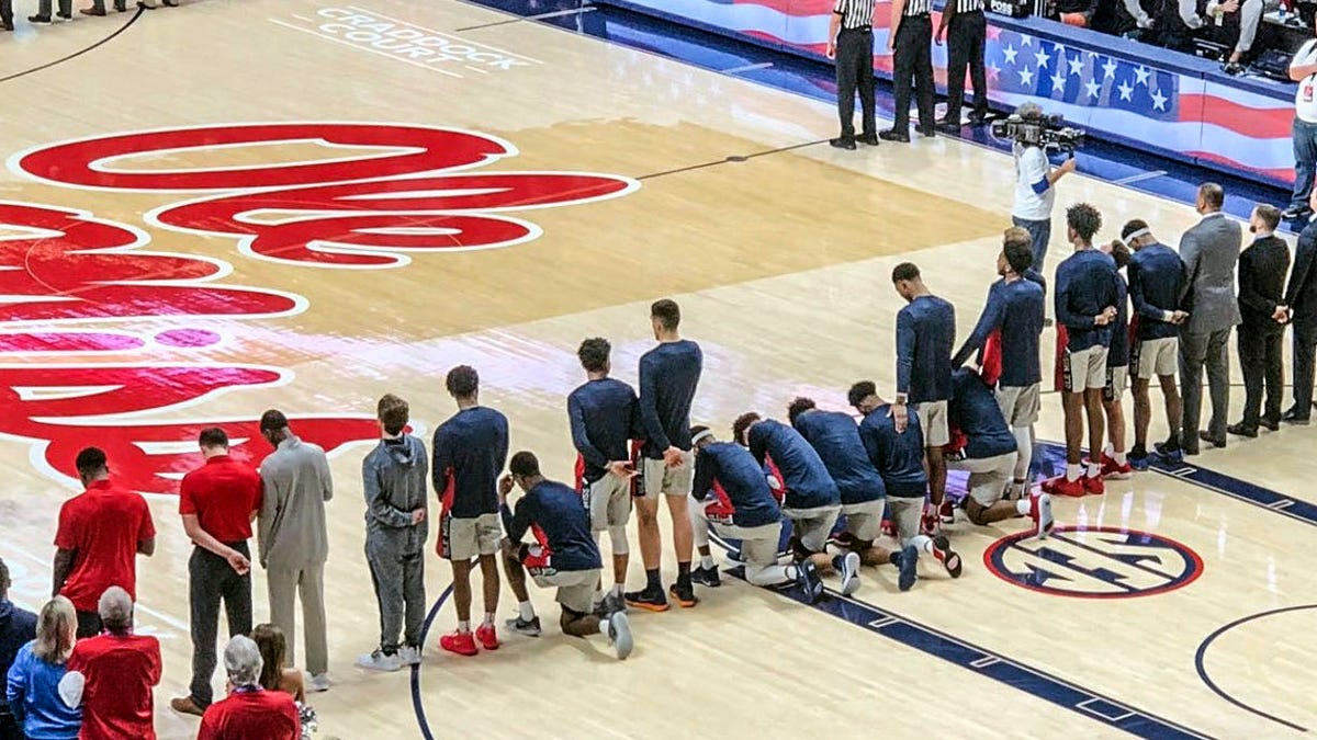 Ole Miss Coach S Support Of Kneeling Players Is Empty Without Talk