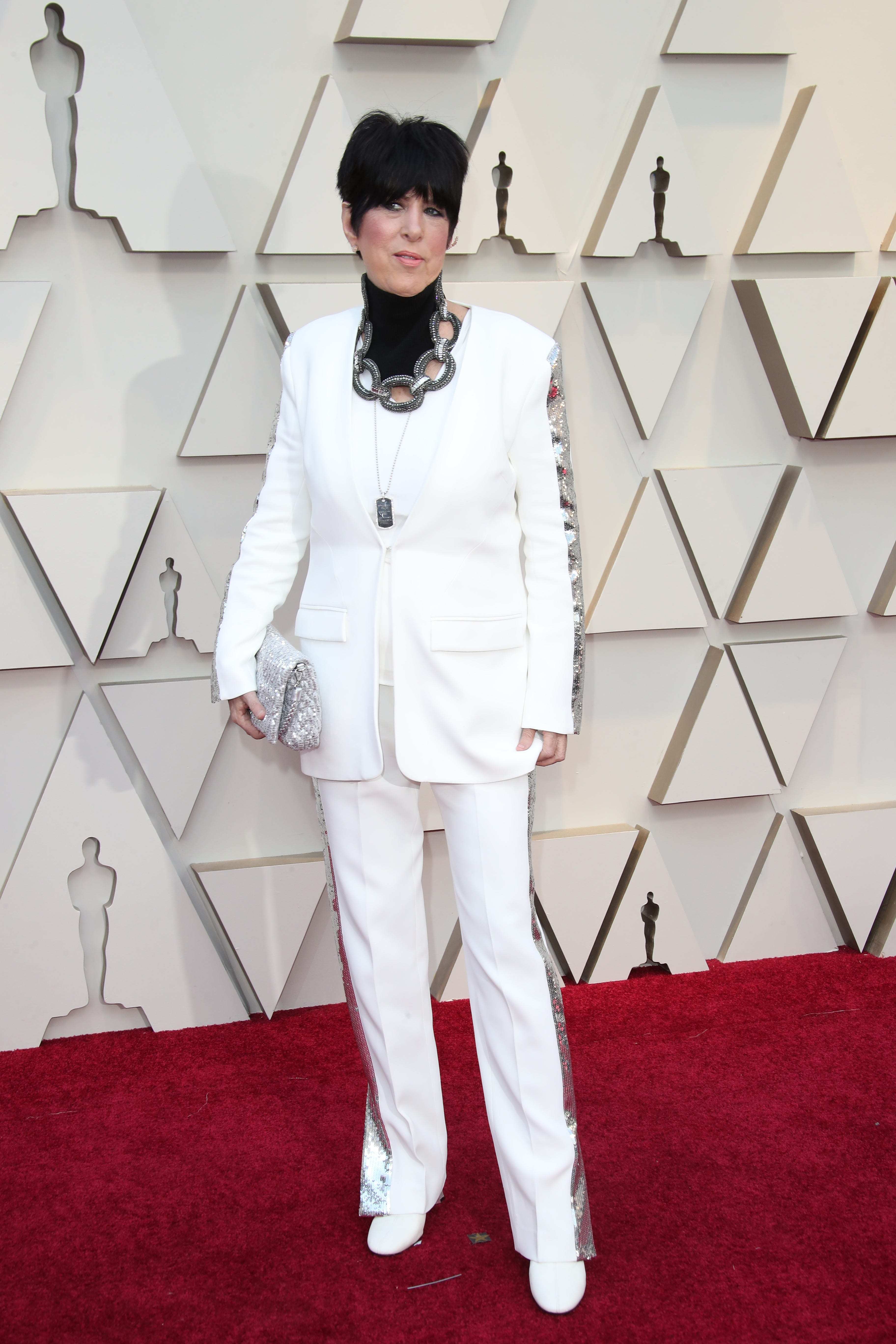 February 24, 2019; Los Angeles, CA, USA; Diane Warren arrives at the 91st Academy Awards at the Dolby Theatre. Mandatory Credit: Dan MacMedan-USA TODAY NETWORK (Via OlyDrop)