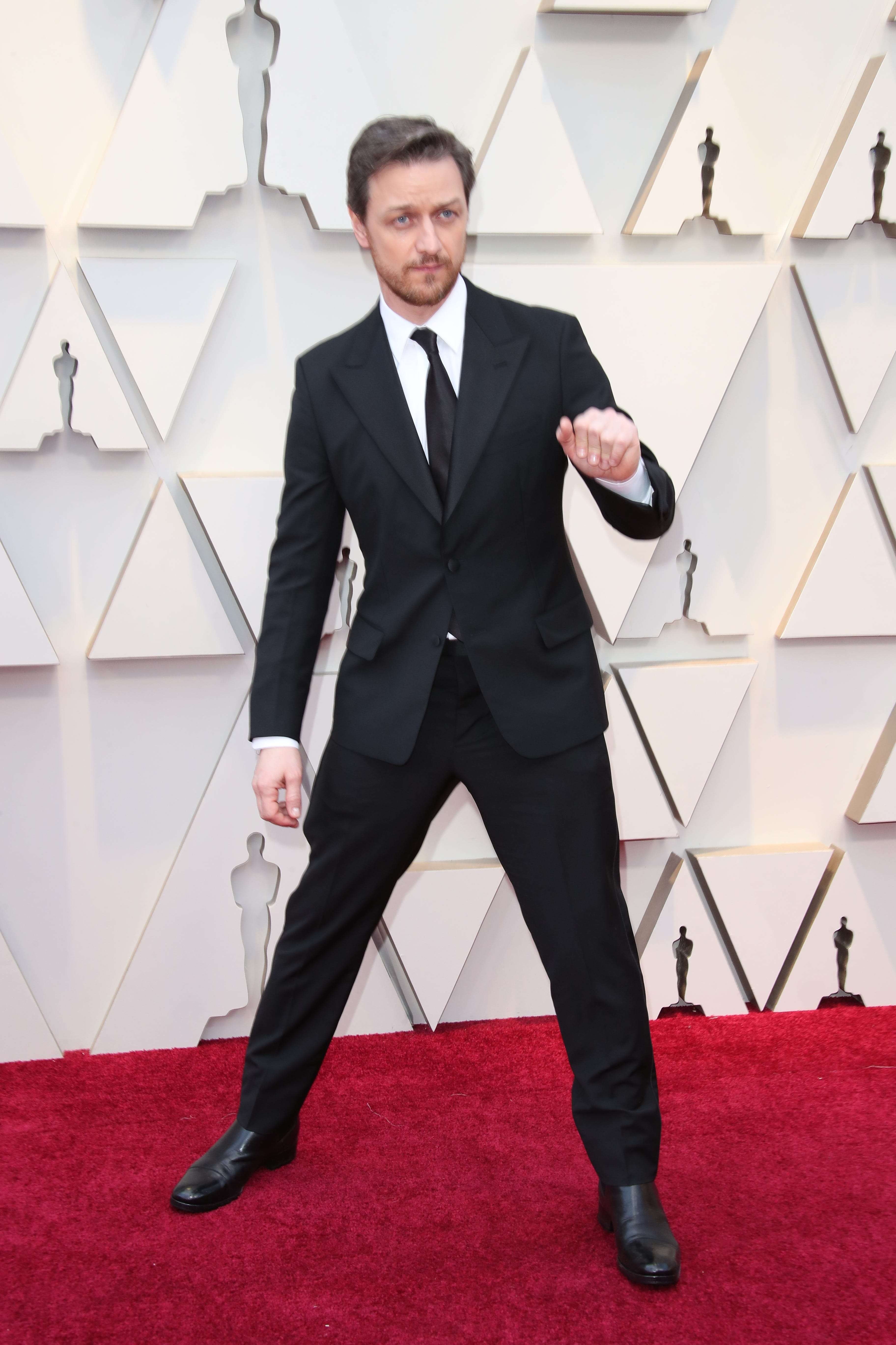 February 24, 2019; Los Angeles, CA, USA; James McAvoy arrives at the 91st Academy Awards at the Dolby Theatre. Mandatory Credit: Dan MacMedan-USA TODAY NETWORK (Via OlyDrop)