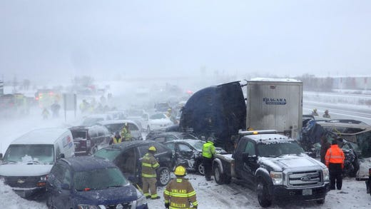 Crash victim recalls chaos, camaraderie during I-41 pileup