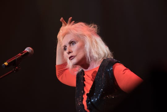 Debbie Harry, pictured at The Hope Concert at the Count Basie Theatre in Red Bank on Dec. 23, 2015.