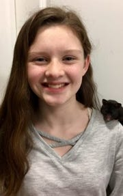Kylie Mclaughlin of Memorial Middle School won second place in the Student Voices essay contest for grades 7-8.