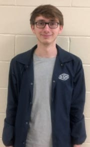 Maxwell Brushaber of Point Pleasant Borough High School won first place in the Student Voices essay contest for grades 9-12.