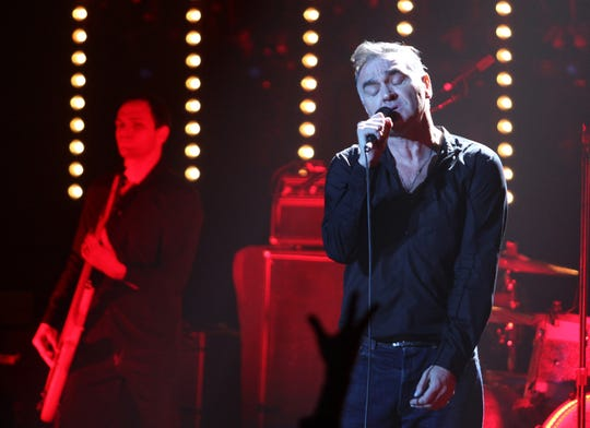 Morrissey plays the Count Basie Theartre in Red Bank, Jan. 15, 2013.