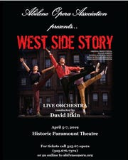 "The Abilene Opera Association is presenting ""West Side Story"" three times in April."