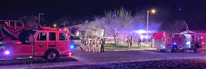 A fire in far north Abilene on Saturday caused $25,000 damage to a mobile home.