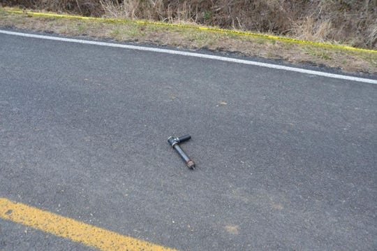 """The """"slam gun"""" police say Dayton Ray Rice was armed with when he confronted Buncombe County deputies."""