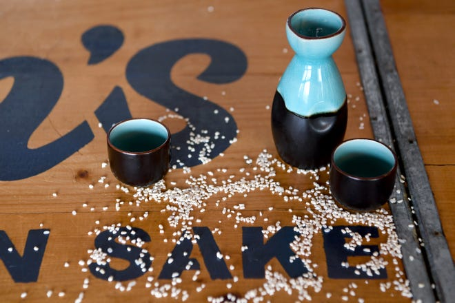 Ben's American Sake is creating a new take on the traditional Japanese beverage made with rice, Koji (a type of mold), yeast and water.