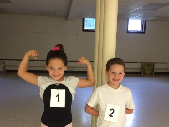 Richard got interested in ballet while watching his sister, Charleigh, dance.
