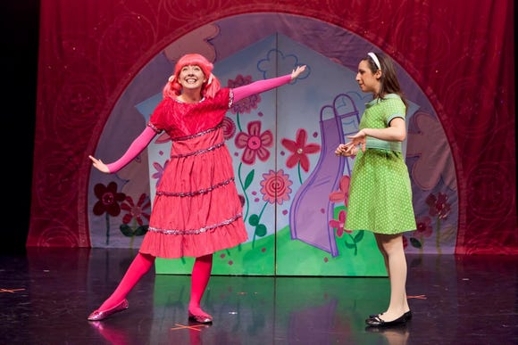 "Pinkalicious Pinkerton sings about her love of all things pink when ""Pinkalicious, the Musical"" stops at the Admiral Theatre for a March 2 matinee."