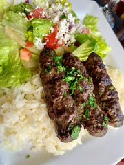 The kafta at Skewers in Indialantic was  flawless.