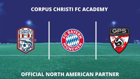 Corpus Christi FC Academy has announced a partnership with Germany's FC Bayern Munich.