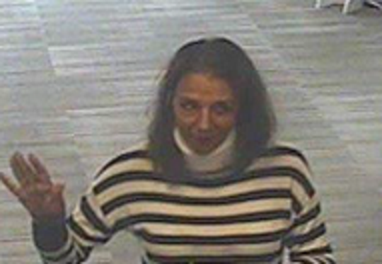 Evesham police are searching for a woman they say tried to pass a bad check with a stolen ID.