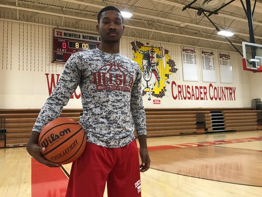 Delsea's Javon Gordon is trying to guide the Crusaders to their second straight South Jersey Group 3 championship.