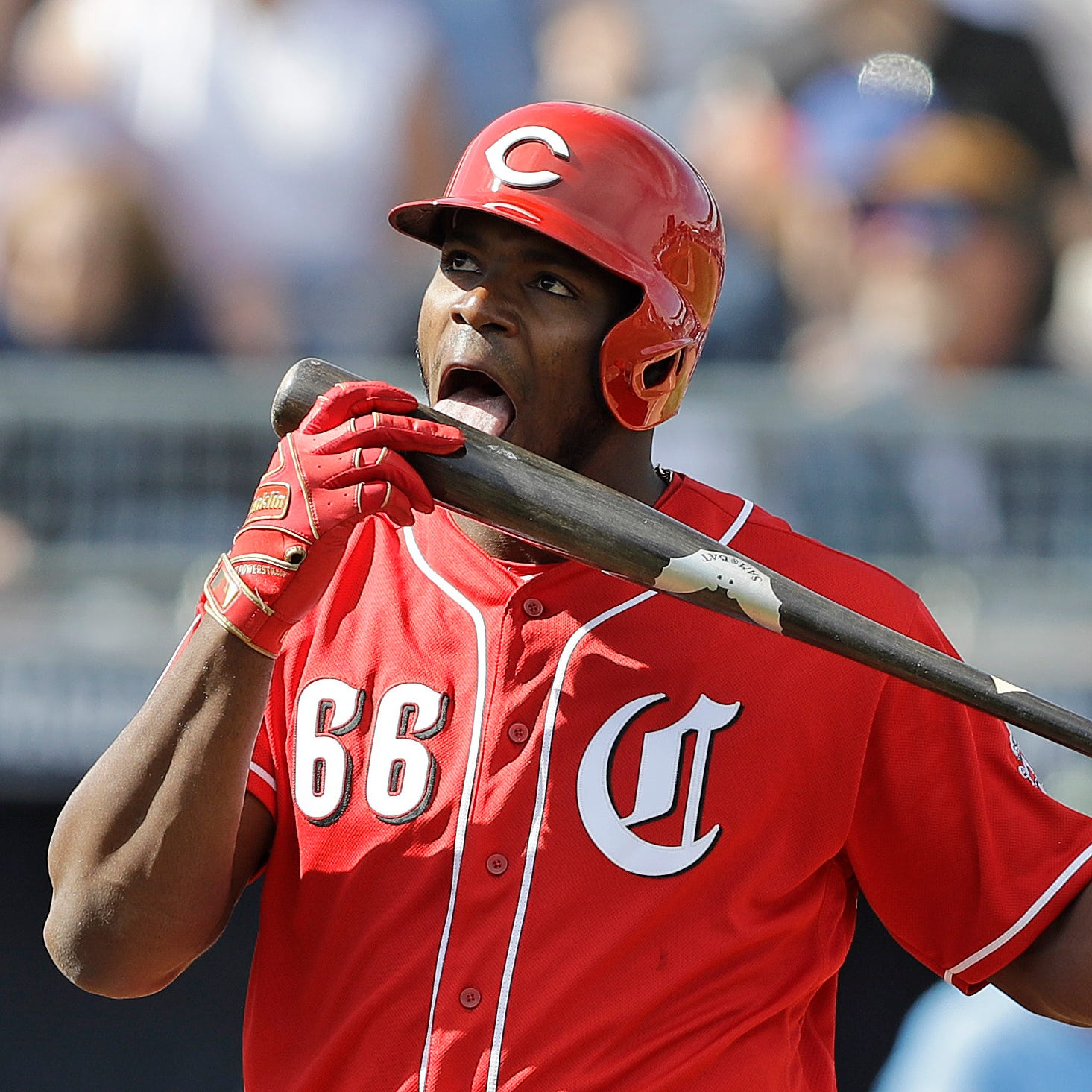 Yasiel Puig picks Drake as his Cincinnati Reds Opening Day walk-up music
