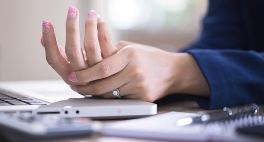 Pain the in the hand can be caused by several conditions, including carpal tunnel syndrome, cubital tunnel syndrome, trigger finger, DeQuervain's Syndrome, and osteoarthritis.