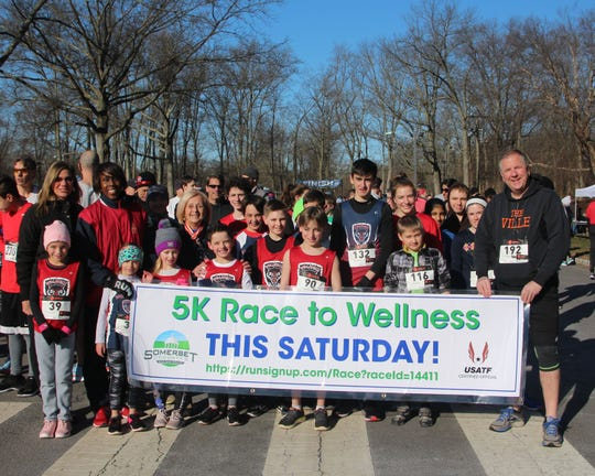 The Somerset County Employee Wellness Committee and EmPoWER Somerset invite residents to put a spring in their step by participating in the sixth annual 5K Race to Wellness and one-mile Fun Walk. The event will be held, rain or shine, at 9 a.m. on Saturday, March 30, at Duke Island Park,191 Old York Road. Last year, Joetta Clark Diggs, Freeholder Deputy Director Patricia L. Walsh and Freeholder Brian G. Gallagher cheered participants on before they tackled the course.