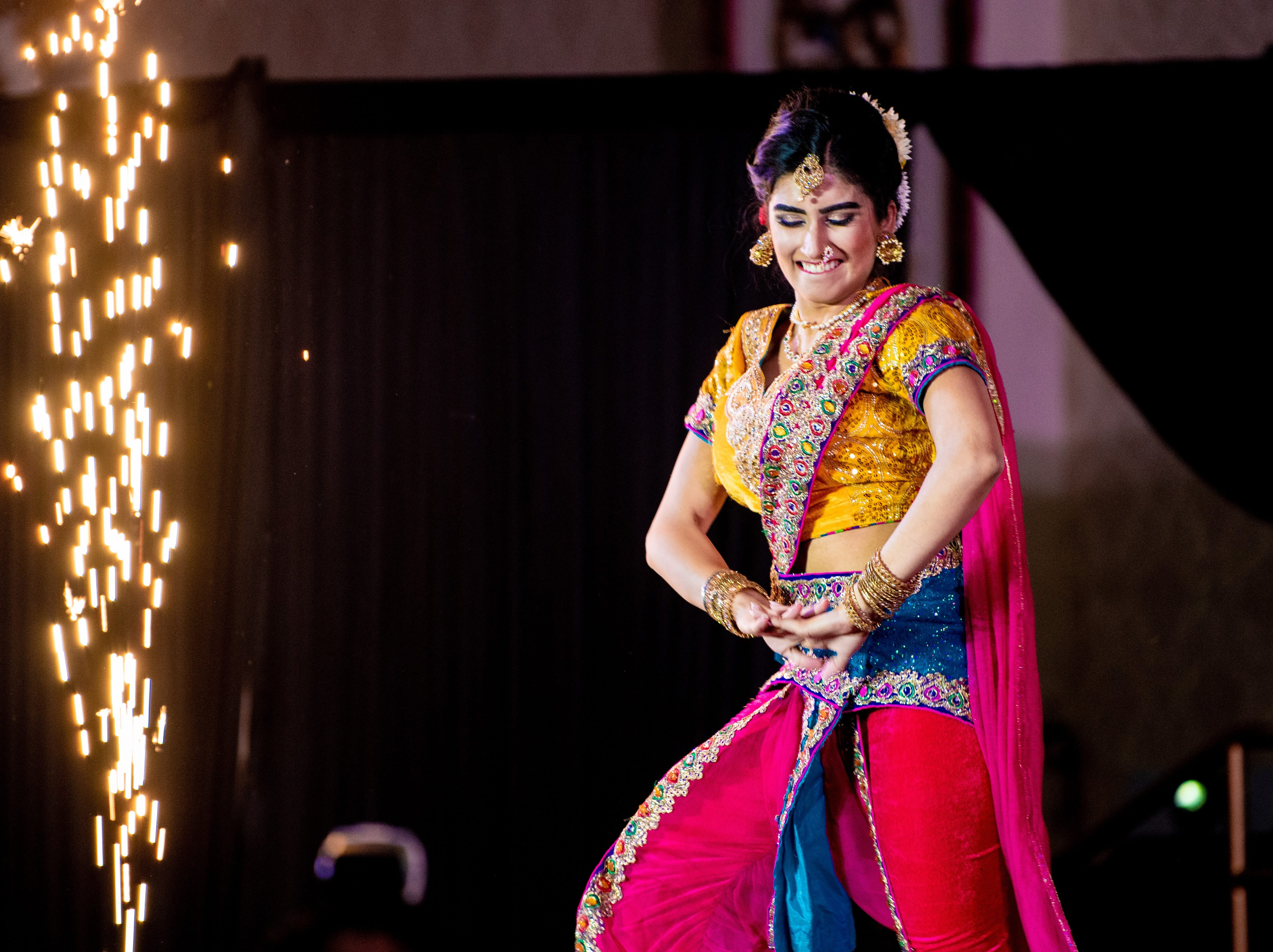 Kim Kumari of the Iselin section of Woodbridge was crowed Miss India USA on Feb. 17 at Royal Alberts Palace in the Fords section of the township. She also won Miss Talented because her Indian folk dance received the highest score in the talent round.