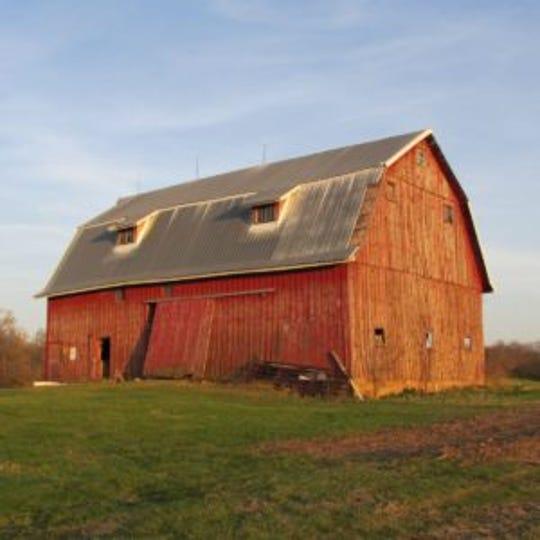 The Bickett-Rate Memorial Preserve Barn in Cedar County.