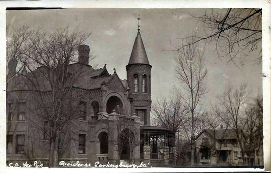 The C.C. Wolf Mansion in Parkersburg