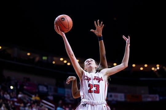 Aubrey Joens will play with her sister Ashley at Iowa State next season.