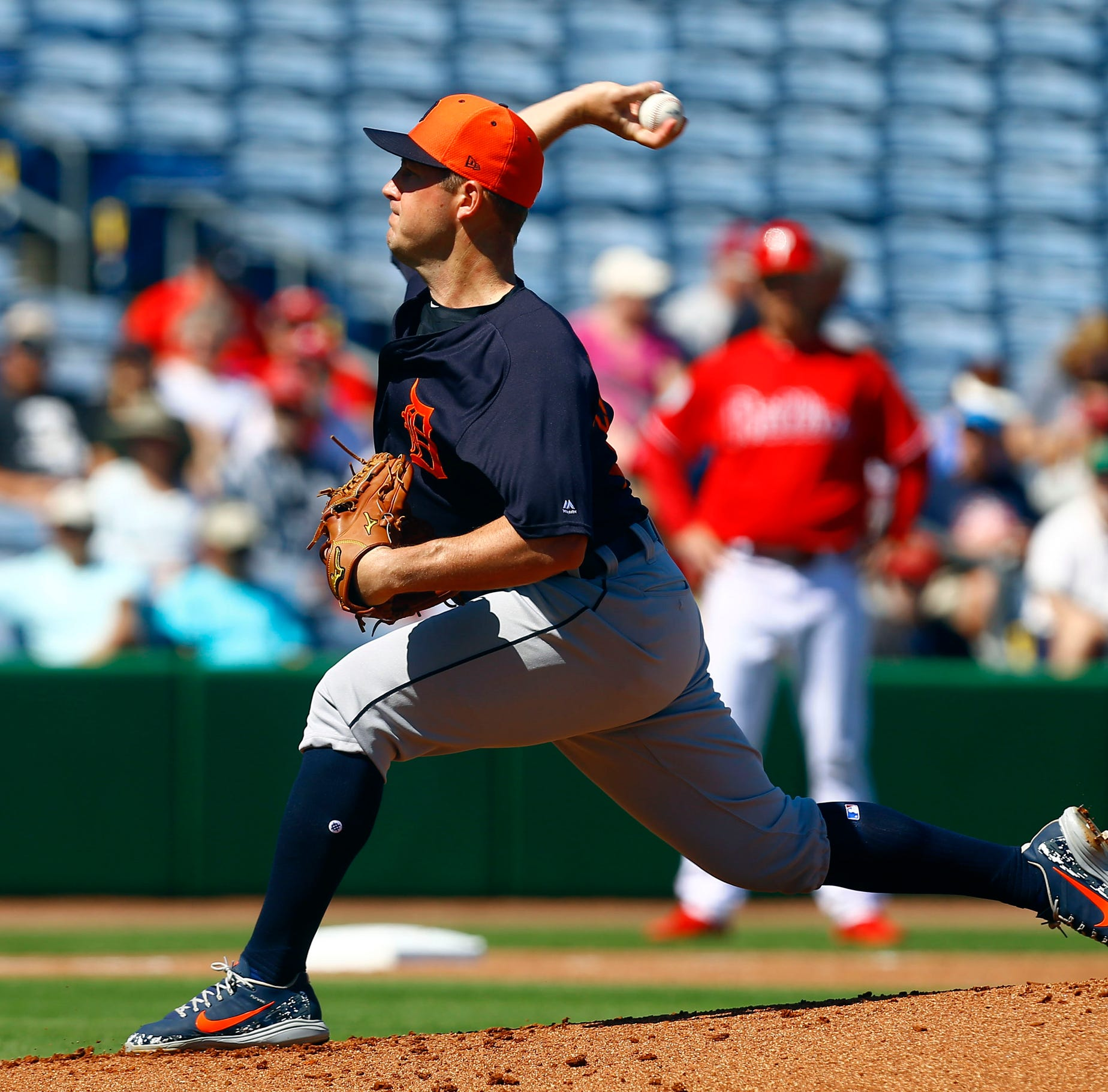 Detroit Tigers lose to Philadelphia Phillies in spring training, 3-1