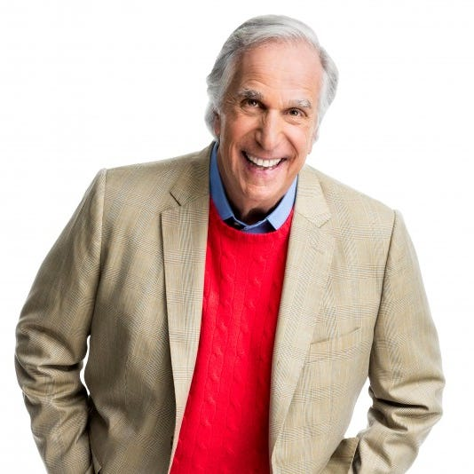 'Oh My it's good': Henry Winkler, aka The Fonz, gives Shady Maple Smorgasbord a shout out