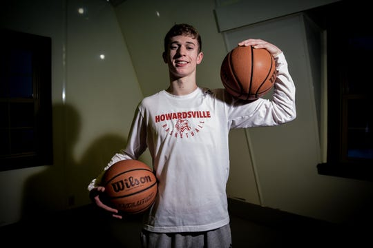 Dylan Jergens, a senior at Howardsville Christian, entered last week No. 3 on the MHSAA career scoring list with 2,628 career points. He is averaging 40.9 points per game heading into district play this week.