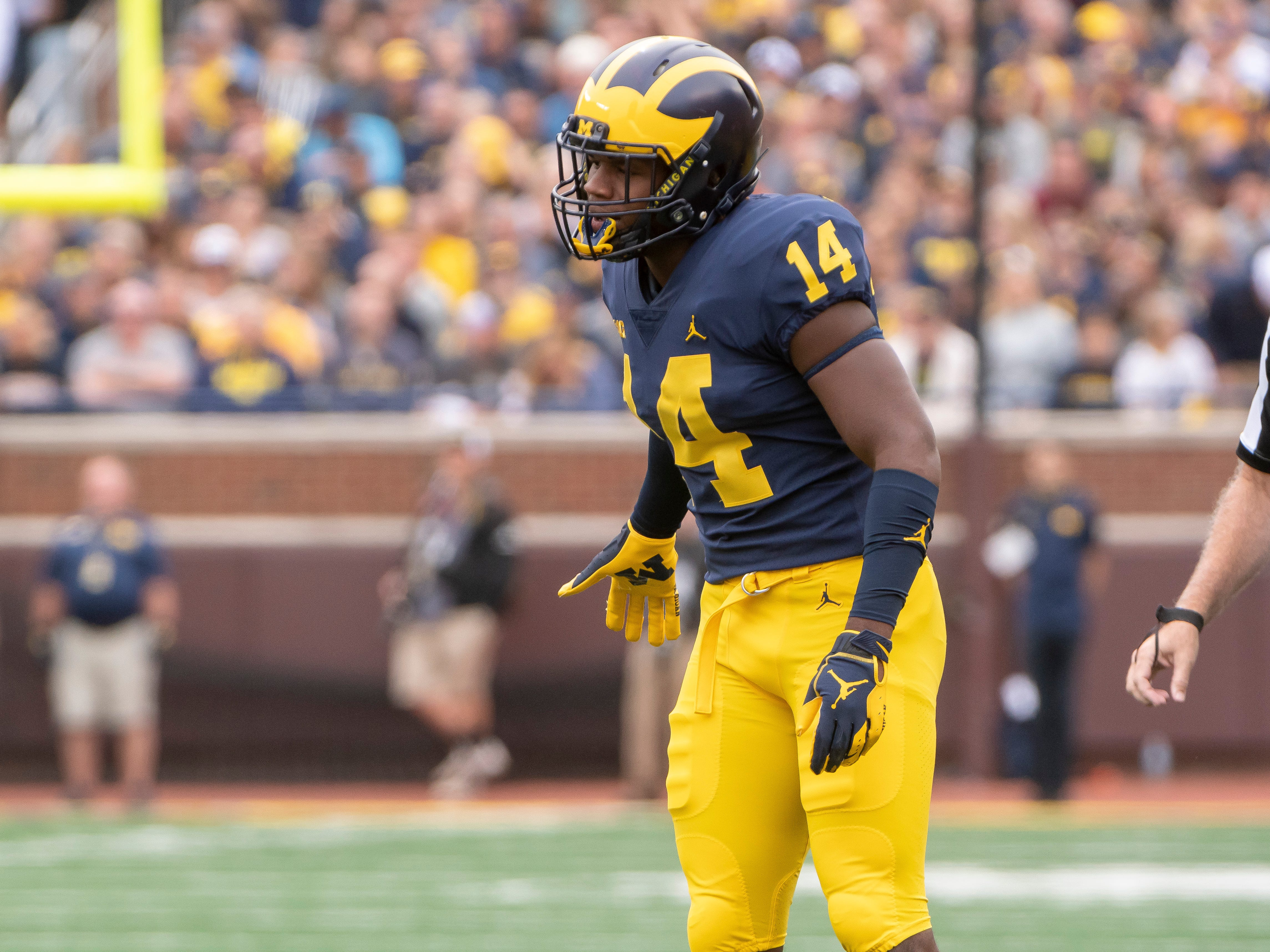 STRONG SAFETY: Josh Metellus – Last season Metellus was AP All-Big Ten first team and second team All-Big Ten. He has made 25 career starts, including 24 at safety. He had 48 tackles, three interceptions and six pass breakups.