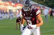 NFL Network draft analyst Daniel Jeremiah says former Mississippi State defensive lineman Montez Sweat (9) could be an option for the Lions with the No. 8 pick in the NFL Draft.