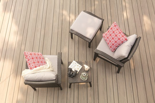 TimberTech Azek's Vintage Collection now includes three different width deck-boards to mix up your deck design.