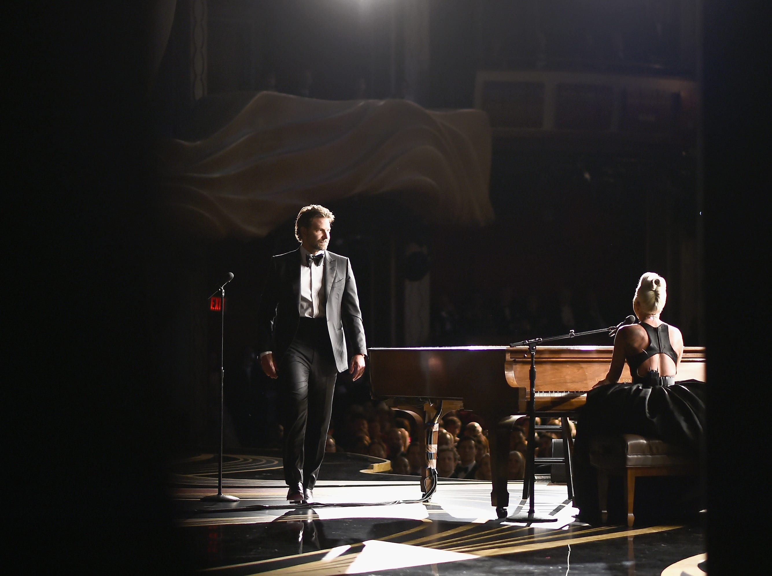 Bradley Cooper and Lady Gaga perform onstage during the 91st Annual Academy Awards at the Dolby Theatre on February 24, 2019 in Hollywood, California.