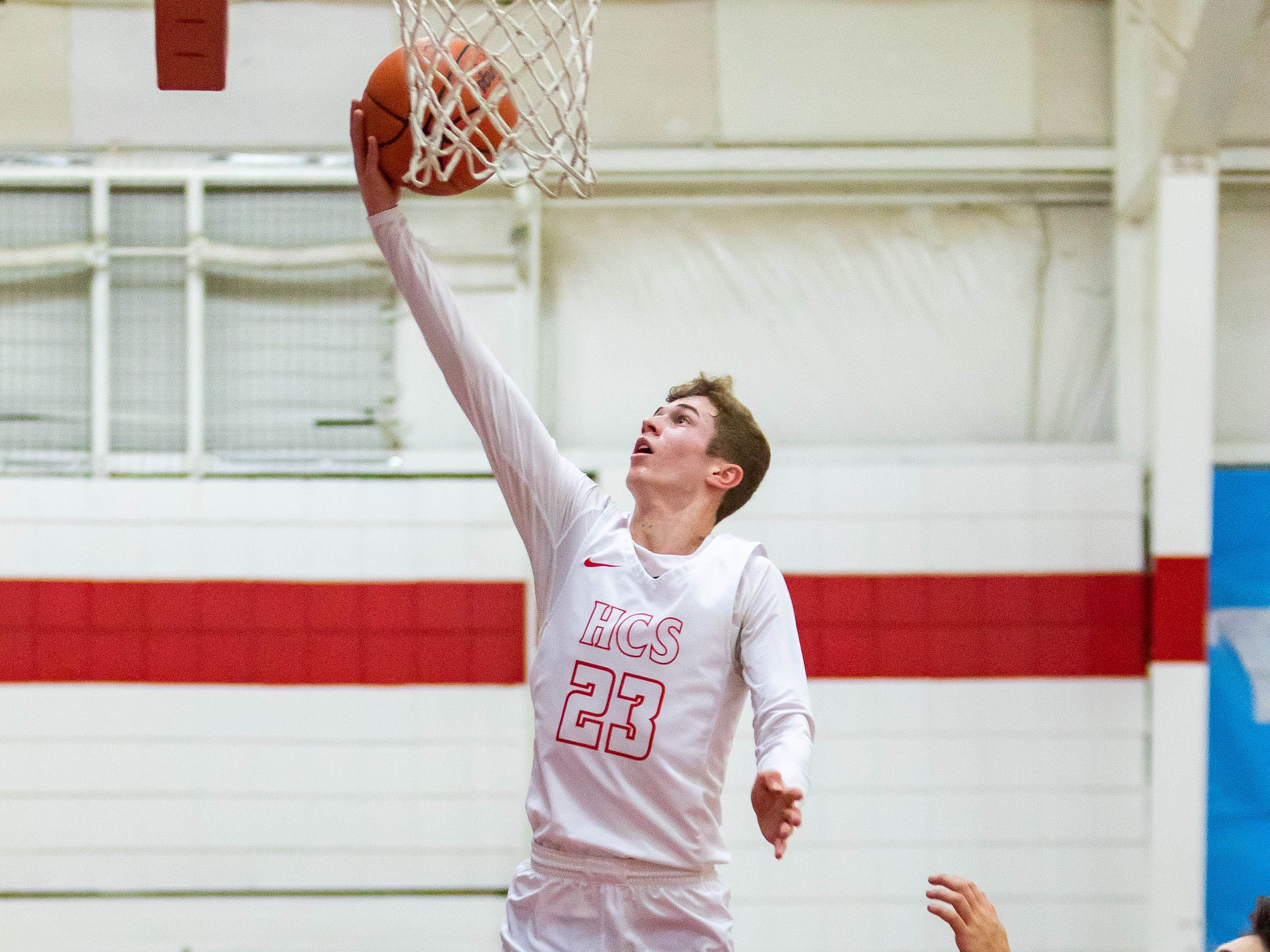Senior Dylan Jergens has led Marcellus Howardsville Christian to a 19-1 record entering the state playoffs.