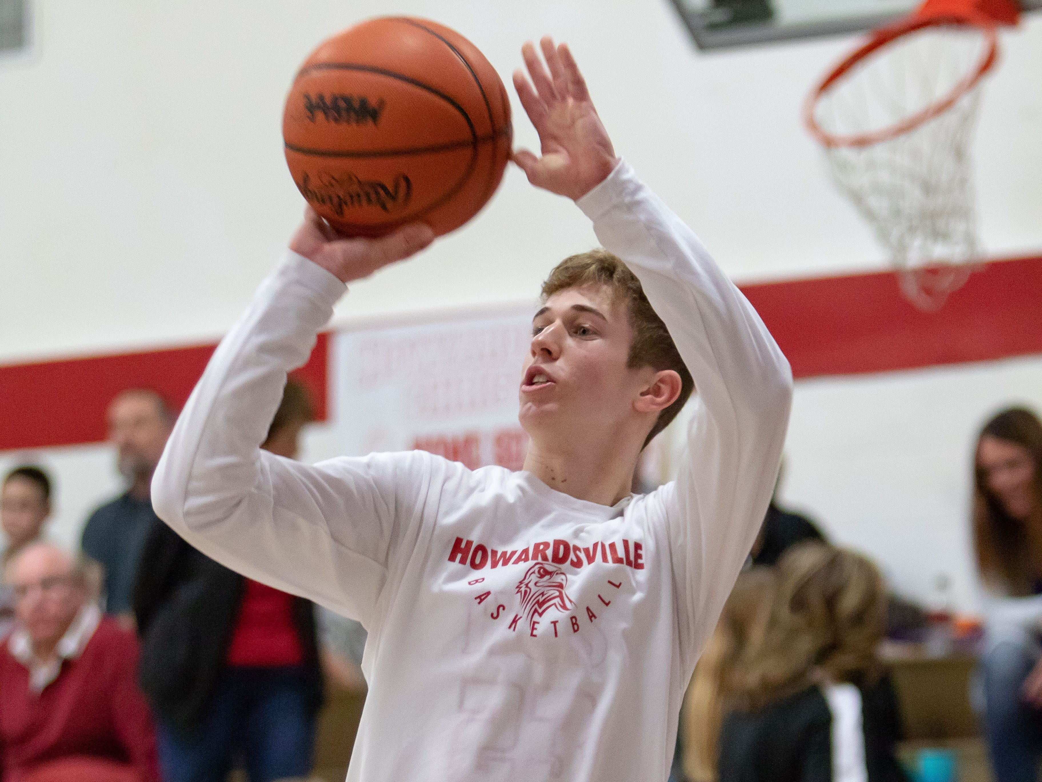 Dylan Jergens of Marcellus Howardsville Christian is third on the all-time career scoring list for the state of Michigan, with 2,628 points entering postseason play.
