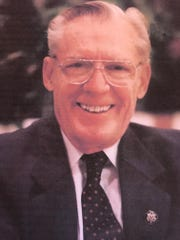 Former Michigan U.S. Rep. William Broomfield, R-Birmingham