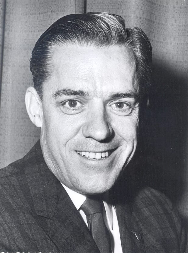 Former U.S. Rep. William Broomfield, shown file photo date unknown, died last week outside Washington at age 96. The Michigan Republican served in the House from 1957 to 1993.