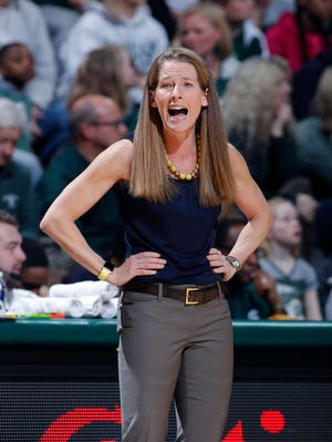 Michigan coach Kim Barnes Arico has led the Wolverines to back-to-back NCAA Tournaments.