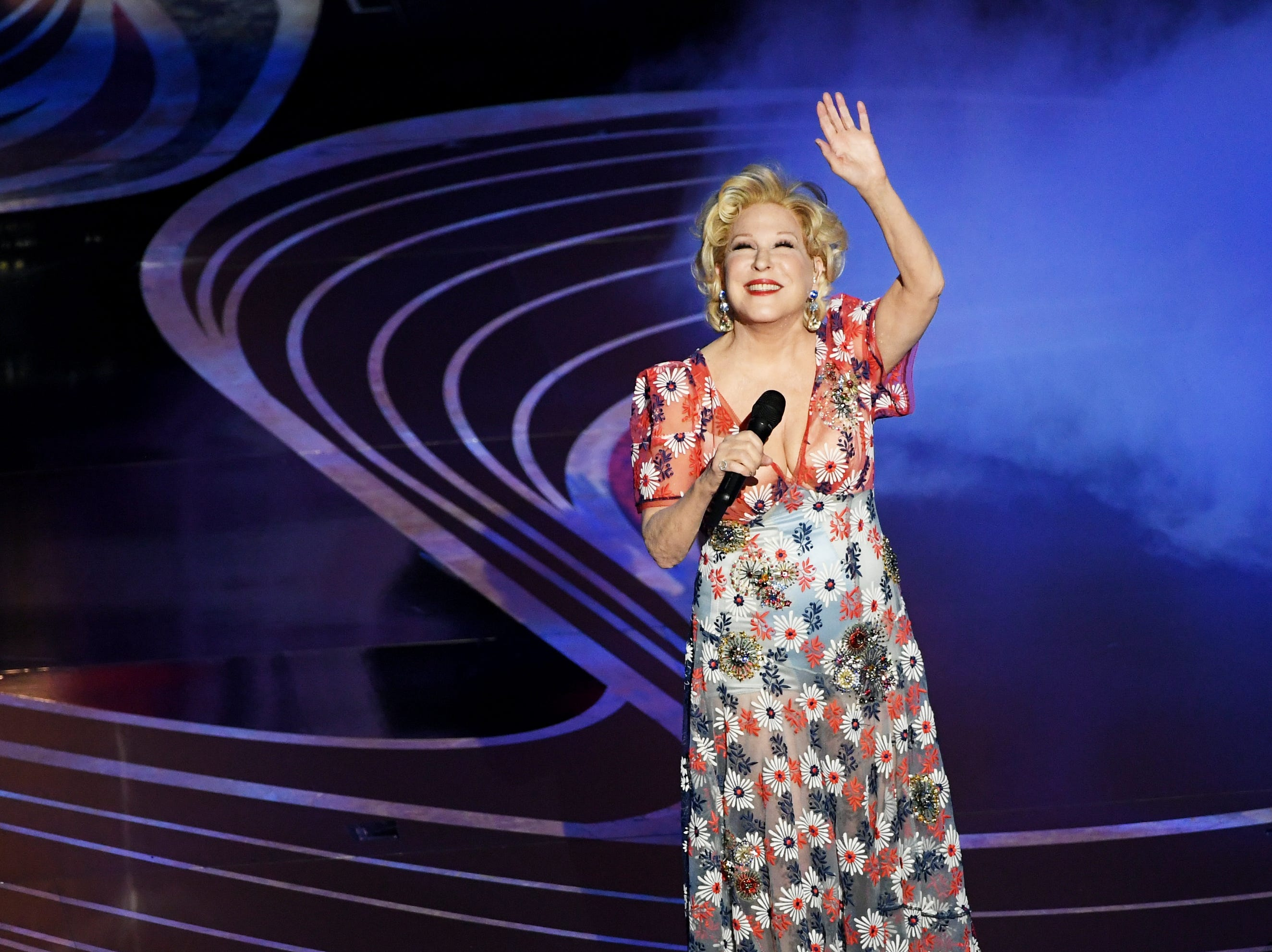 Bette Midler performs onstage during the 91st Annual Academy Awards.